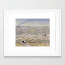 Coastal scene Framed Art Print