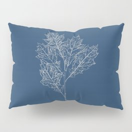 English Oak Blueprint Pillow Sham