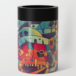 Moving Castle Can Cooler