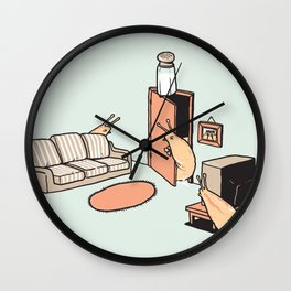 Cruel Joke Wall Clock