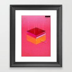 Toast: Facebook Shapes & Statuses Framed Art Print