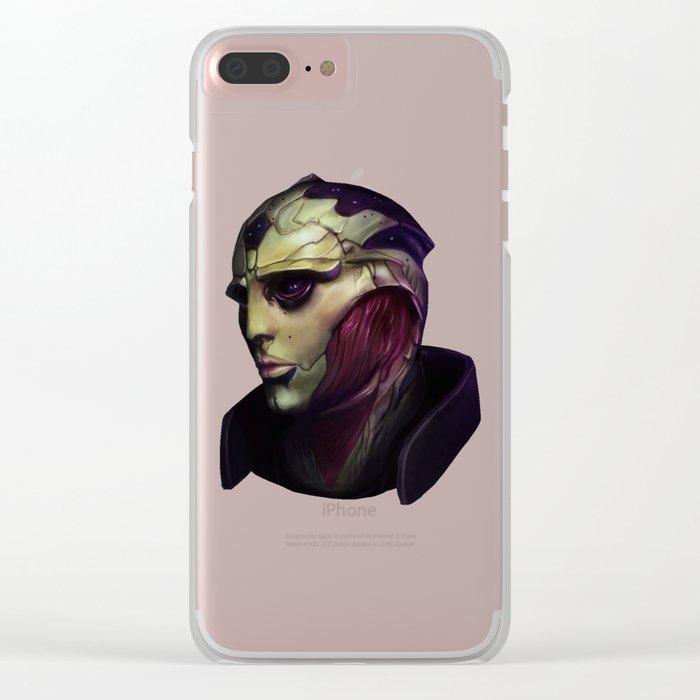 Mass Effect: Thane Krios Clear iPhone Case