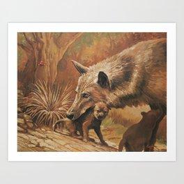 Animal Lover 2 Art Print