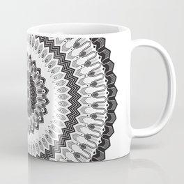 Art Deco & Navajo Fusion Inspired Mandala Coffee Mug