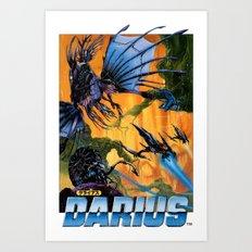 Darius Art Print
