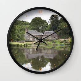 Idyllique Mayenne Wall Clock