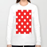 dots Long Sleeve T-shirts featuring Dots by Ace of Spades