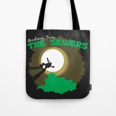 Greetings From the Sewers Tote Bag