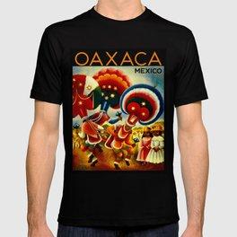 Oaxaca Mexico Vintage Travel T-shirt