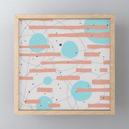 STUCK Framed Mini Art Print