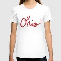 ohio T-shirts featuring Ohio by Alisha Williams