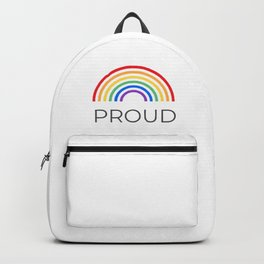 PROUD - Gay Pride Backpack