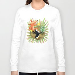 Berta, Lima y Limón - ronda Long Sleeve T-shirt