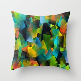 Stormy day in Autumn.... Throw Pillow