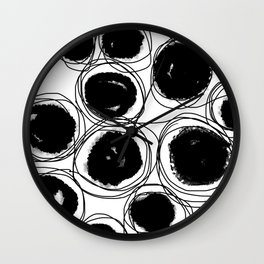 BlackBlob Wall Clock