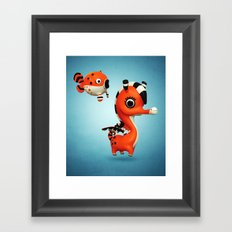 Seagasus Framed Art Print