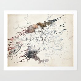 Just once Art Print