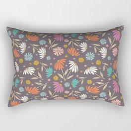 Garden Flowers Style E Rectangular Pillow