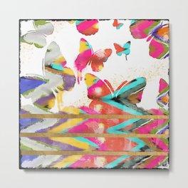 mariposa explosion Metal Print