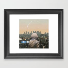 The City Framed Art Print