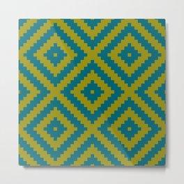 IKEA LAPPLJUNG RUTA rug pattern Metal Print