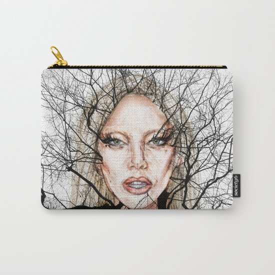 GA Ga Wisdom Veins lg Carry-All Pouch