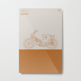 Macchina No.01 Metal Print