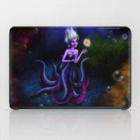 ursula iPad Cases featuring Ursula by Callie Clara