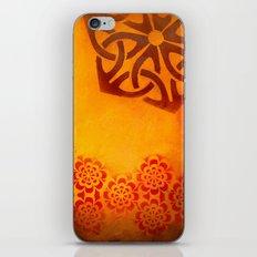 Abstract heat iPhone & iPod Skin