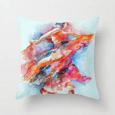 Allure of the Flamenco Throw Pillow