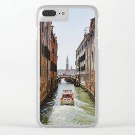 Venetian Campanile Clear iPhone Case