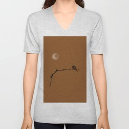 autumn bird Unisex V-Neck