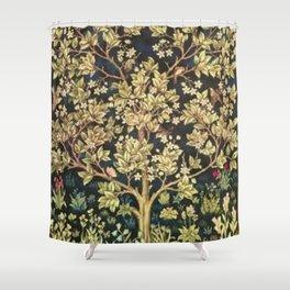 William Morris Tree Of Life Shower Curtain