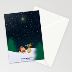 Nicolas&Rudolph (Star) Stationery Cards
