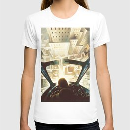 Nose Dive Into the City by T. Crali T-shirt