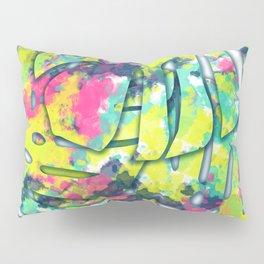 Splatter Monsteras #society6 Pillow Sham