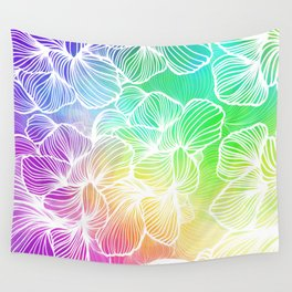 Tropical Rainbow Wall Tapestry