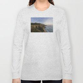 Bixby Bridge at Big Sur Long Sleeve T-shirt