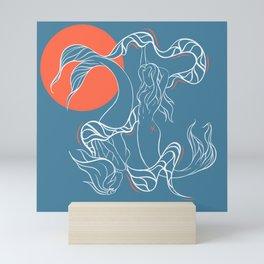 Zodiac Illustration - Pisces Mini Art Print