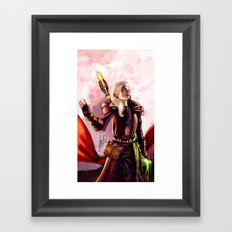 Dragon Age Inquisition - Aspen the elvish mage Framed Art Print