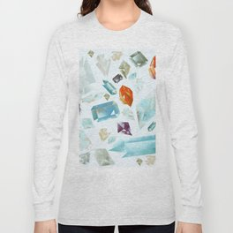 red stones Long Sleeve T-shirt