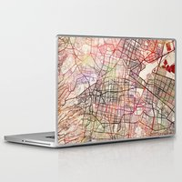 mexico Laptop & iPad Skins featuring Mexico by MapMapMaps.Watercolors