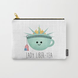 Lady Liber-tea Carry-All Pouch