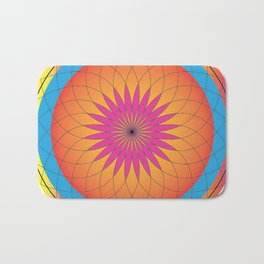 Mandala Art Bath Mat