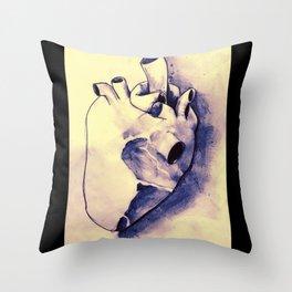 corazónS Throw Pillow