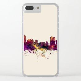 Winnipeg Canada Skyline Clear iPhone Case