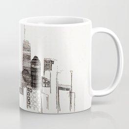 unfinished skyline Coffee Mug