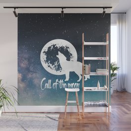 Call of the Moon 2 Wall Mural