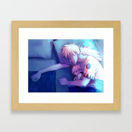 Dead tired Framed Art Print