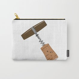 Corkscrew with Cork Carry-All Pouch